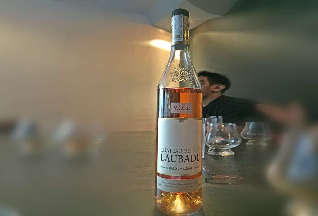 Château Laubade VSOP is the brand's entry level Armagnac