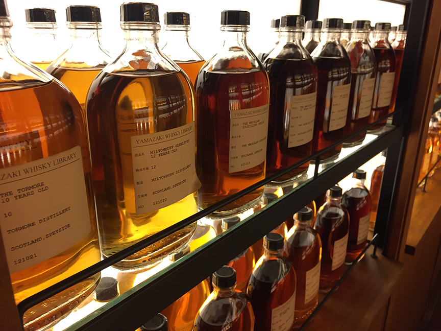 The Whisky Library contains different samples from different distilleries globally