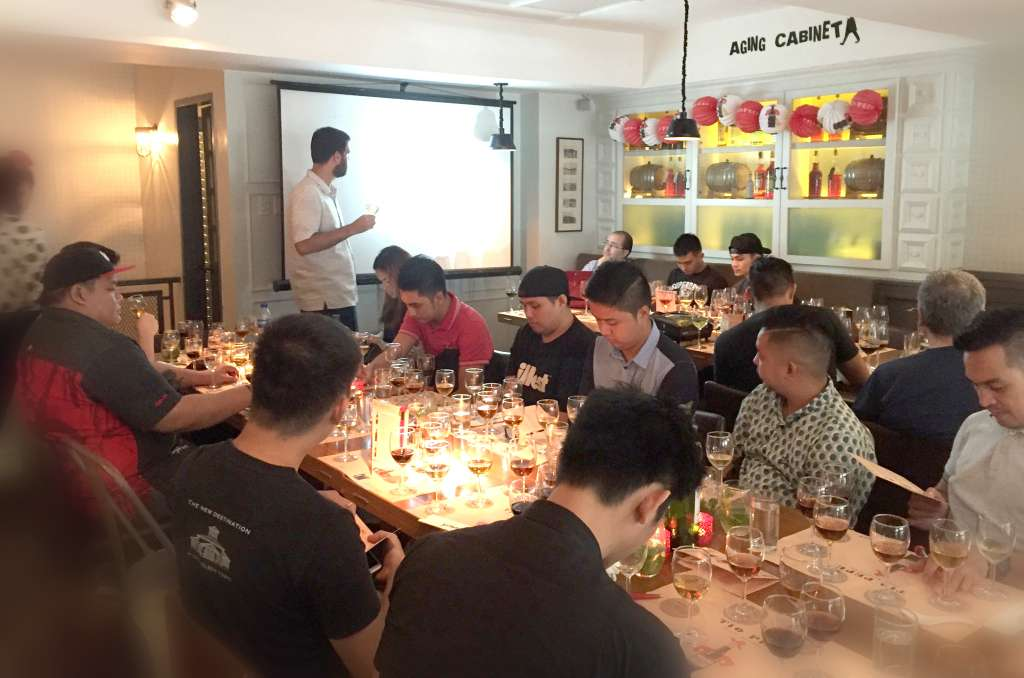 Sherry Masterclass by Tio Pepe held at Rambla in Rockwell