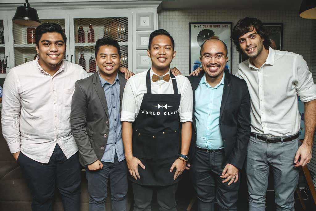 l-r-ken-bandivas-diageo-reserve-philippines-brand-ambassador-rian-asiddao-michael-tubiera-diageo-philippines-marketing-director-cesar-gangoso-rambla-co-owner-uri-singla
