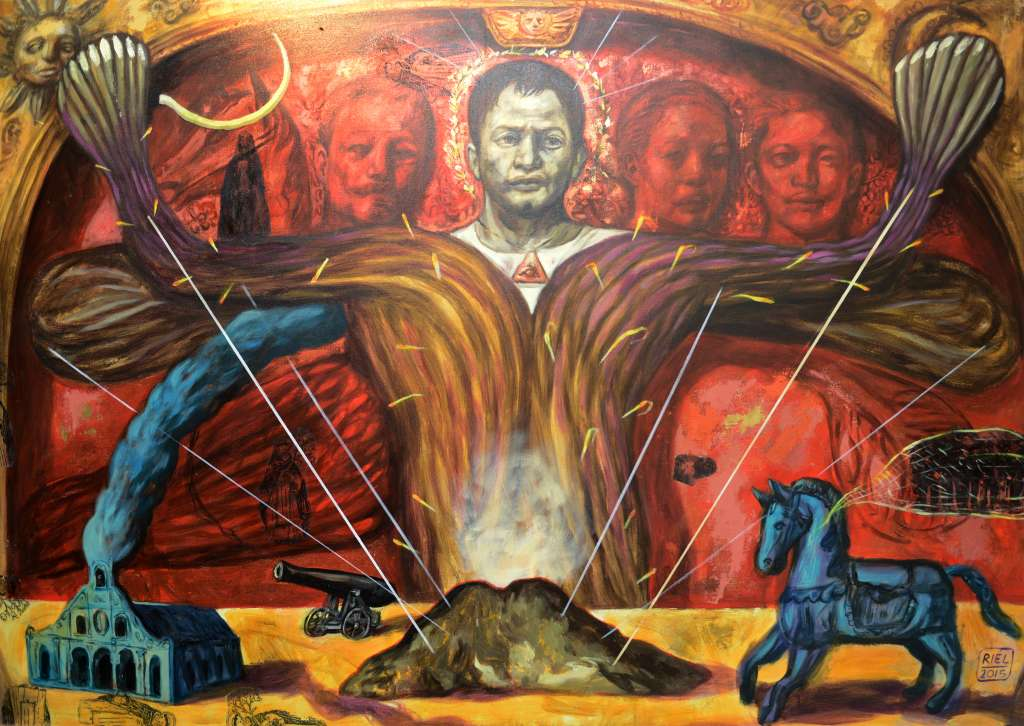 Last year's winning artwork – The Spiritual Landscape of Papa Isio by Riel Hilario