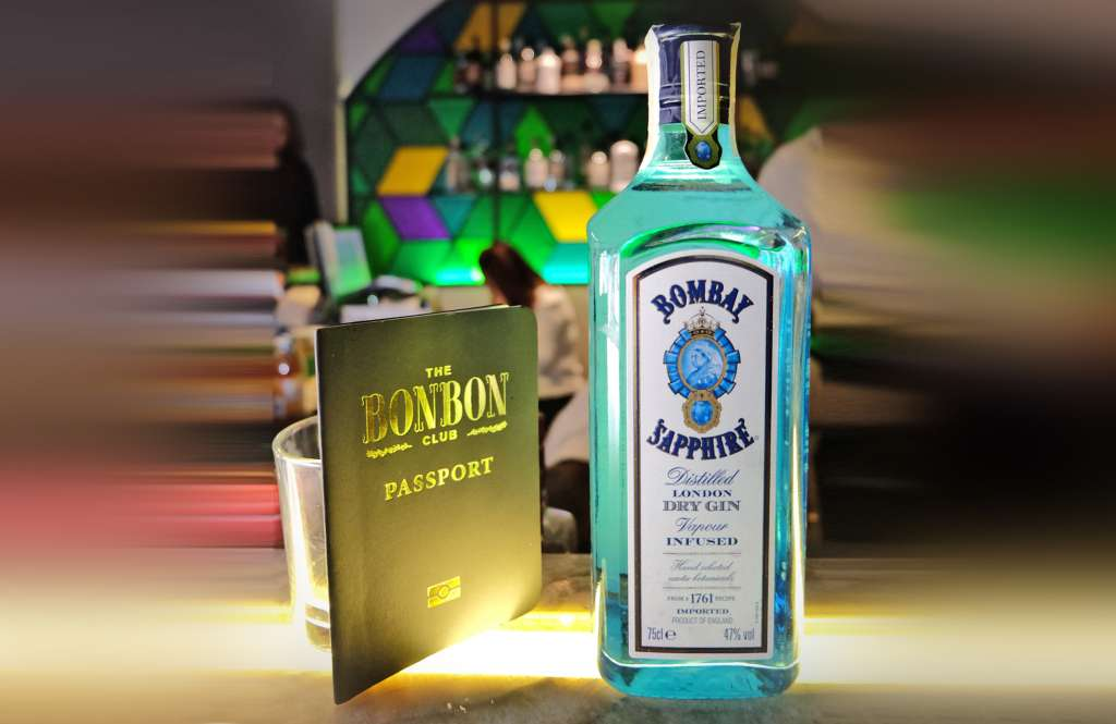 Feature Gin for the night, Bombay Saphire