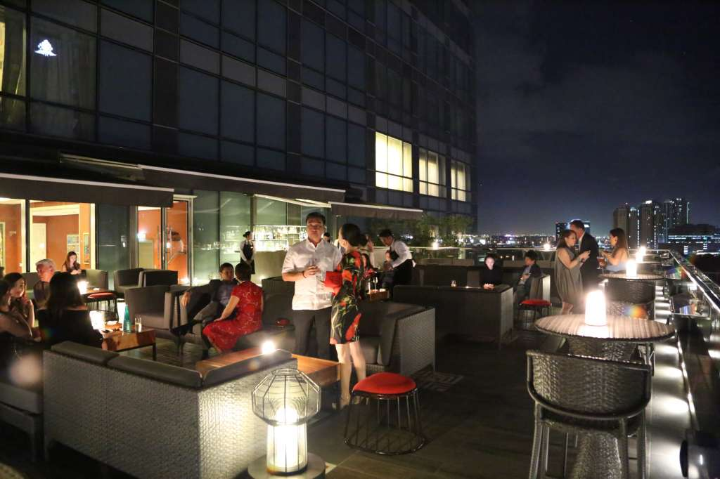 Rooftop drinking spot and proven al inspired brasserie for Terrace 33 makati