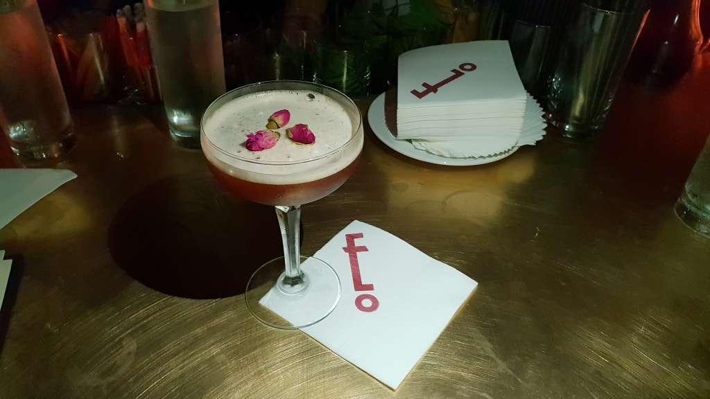 Mata Hari - Remy Martin VSOP Cognac shaken with Chai-infused Italian Vermouth & Pomegranate Juice