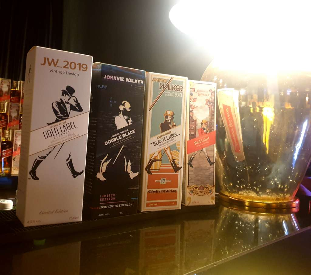 Johnnie Walker's Collectible Vintage Design Pack is Now in